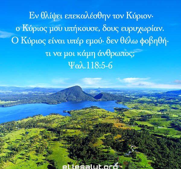 Ψαλ.118:5-6
