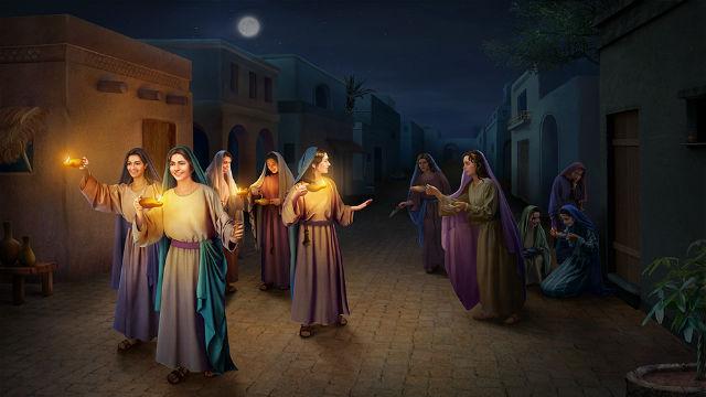 Οι συνετές παρθένοι μπορούν να αναγνωρίσουν τη φωνή του Θεού!