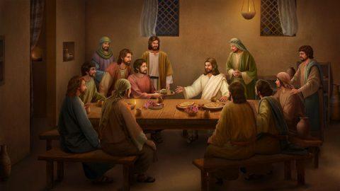 Ο Ιησούς τρώει ψωμί και εξηγεί τις Γραφές μετά την ανάστασή Του (2)