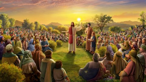 Ο Ιησούς ταΐζει τους πέντε χιλιάδες (1)
