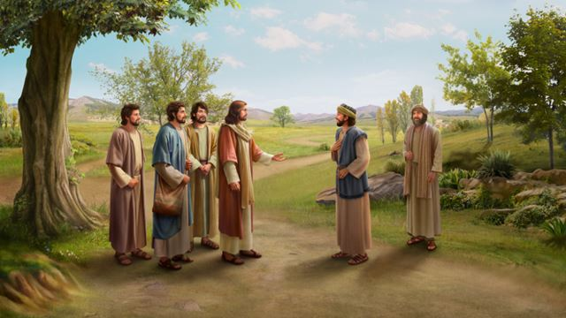 Ο Ναθαναήλ αποδέχτηκε το ευαγγέλιο,Τον Ιησού Χριστό και τους μαθητές